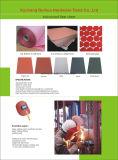 L'isolamento elettrico ha vulcanizzato le parti dello strato della fibra, strati del documento della fibra vulcanizzati cotone, strato vulcanizzato d'isolamento elettrico rosso del documento della fibra per tagliare