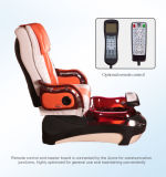 Shiatsu Massage Appuie-glace inclinable avec bacs Manicure Pedicure SPA Chair D201-51A