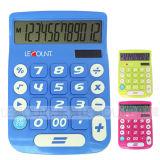 12 dígitos se doblan calculadora de escritorio de la potencia con la visualización grande y los claves grandes (LC201-12D) del LCD