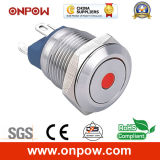 Onpow 12mm Metal Pushbutton Switch (GQ12-A SERIES 의 세륨, RoHS Compliant)