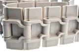 Catena di plastica della parte superiore piana della singola cerniera con alta produttività lavorativa