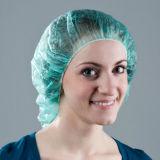 円形の帽子の看護婦の帽子のBouffant帽子の毛ネット