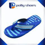 Lastest Beach Sandal Men Blue PE Flip Flop
