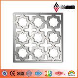 El panel compuesto de aluminio del corte del CNC