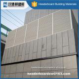 Tablero exterior coloreado de alta resistencia del cemento de la fibra de la alta calidad