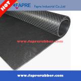 Configuration de pyramide/semelle de diamant/couvre-tapis en caoutchouc de configuration de surface lame de saule