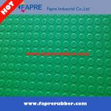 Couvre-tapis en caoutchouc de grande configuration ronde de pièce de monnaie pour imperméable à l'eau