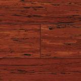 Suelo de bambú tejido hilo carbonizado con Ce y el certificado ISO9001