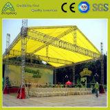 Ферменная конструкция крыши случая выставки представления освещения ферменной конструкции торговой выставки большая