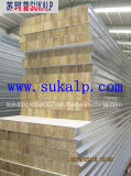Thermisches Insulation Rock Wool Sandwich Panel für Wall und Roof