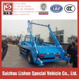 Collecteur de rebut de déchets de camion de nouveau d'ordures de camion de Dongfeng d'oscillation de bras d'ordures de camion de bras m3 du roulis 6
