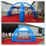 Barraca inflável impressa da aranha da abóbada do ar para ao ar livre