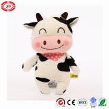 Jouet mou superbe de sourire mignon de peluche de qualité de gosses de vache