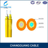 Cuadro 8 cable óptico doble Gjfj8V de LSZH de fibra de la base