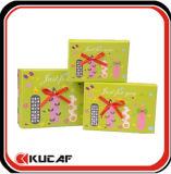 Rectángulo de regalo de empaquetado de papel de los rectángulos