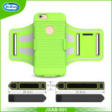 Armband van de Sport van 5.5 Telefoons van de Duim de Mobiele Weerspiegelende Lopende voor iPhone 7 plus