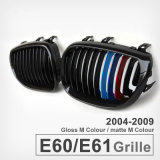 Grade larga da grade do rim da cor lustrosa dianteira do preto M para BMW 5 séries E60 525li 530I 523 528I 520I 2004-2009