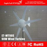 200W Gedreven Generator van de Straatlantaarn van de Turbogenerator van de wind de Zonne Hybride Wind]