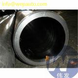 El tubo afilado con piedra destemplado brillante afiló con piedra el barril de cilindro