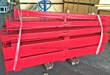 Rápido instalar el pasamano fuerte del hierro de la cerca de la estructura de acero