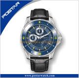 逆行週のMultifuction日本の動きのブランドの腕時計