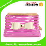 方法女性Clear PVC装飾的な袋の透過防水構成袋