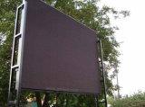 낮은 힘 에너지 절약 P10 LED 모듈로 하는 풀 컬러 LED 영상 벽