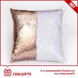 Cubierta sólida al por mayor del amortiguador del cequi de la sirena, fundas de almohada decorativas del tiro