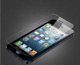 iPhone&#160 ; Butoir ultra-mince transparent de haut d'écran en verre Tempered de radian des accessoires 2.5D pour l'iPhone 5/5s/Se