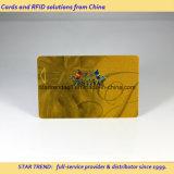 Золотистая карточка с магнитной для высокого клуба