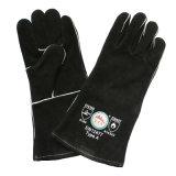 Черные теплостойкNp перчатки заварки безопасности руки перчаток BBQ с Ce