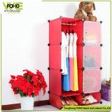 Pp.-materielle faltende Plastikablagekasten-Schlafzimmerarmoire-Garderobe