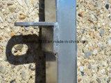 알파카 또는 산양 또는 양 야드 위원회 2.1m x 1.2m 타원형 가로장