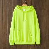 Entspanntes Sitz-Baumwoll-Polyester-Mischungs-Form Hoody Sweatshirt mit Beutel-Tasche