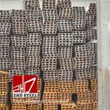 "Lista d'acciaio laminata a caldo di prezzi della scanalatura a ""u"" di JIS Ss400"