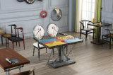 Дешевая деревянная конструкция журнального стола для кофейни