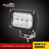 "Luz auto de aluminio 24V del trabajo del CREE 5W LED de la cubierta 5.5 """