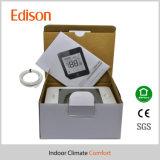 Fábrica elegante de los termóstatos del sitio de la pantalla táctil del LCD