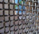 ひだを付けられた金網か編まれた網または金網スクリーン