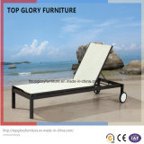Salotto del Chaise di Textilene del giardino per mobilia esterna (TG-812)