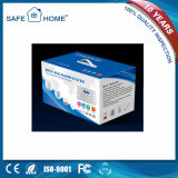 Système d'alarme intelligent de cambrioleur d'affichage à cristaux liquides pour la garantie à la maison
