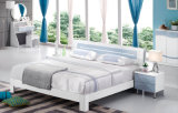 Nuevo muebles modernos laqueados del dormitorio del diseño moderno alto lustre (HC908A)