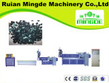 Wind-Kühlender Heiß-Ausschnitt Sj-90/100/110/120 HDPE-LDPE-Plastik, der Maschinerie zusammensetzend aufbereitet