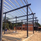 Construction d'encadrement d'acier de construction de la Thaïlande avec la forme spéciale