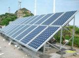 편평한 지붕을%s 태양 에너지 시스템이 10kw에 의하여 집으로 돌아온다