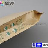 Packpapier-Kunststoffgehäuse-Beutel der Dichtungs-4-Side für Imbiss-Nahrung