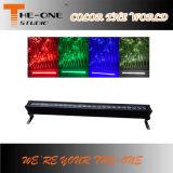 24 luz impermeável excelente ao ar livre da barra do diodo emissor de luz do PCS x do 10W