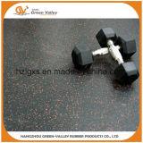 rodillo de goma de goma del azulejo de suelo de la anchura EPDM del 1.2m para la gimnasia