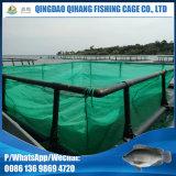 Cultura aquática quadrada do HDPE que cultiva a flutuação da gaiola dos peixes