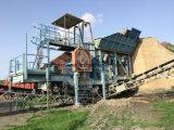 завод гранита 250tph Sandvik каменный задавливая для производить компоситы и песок